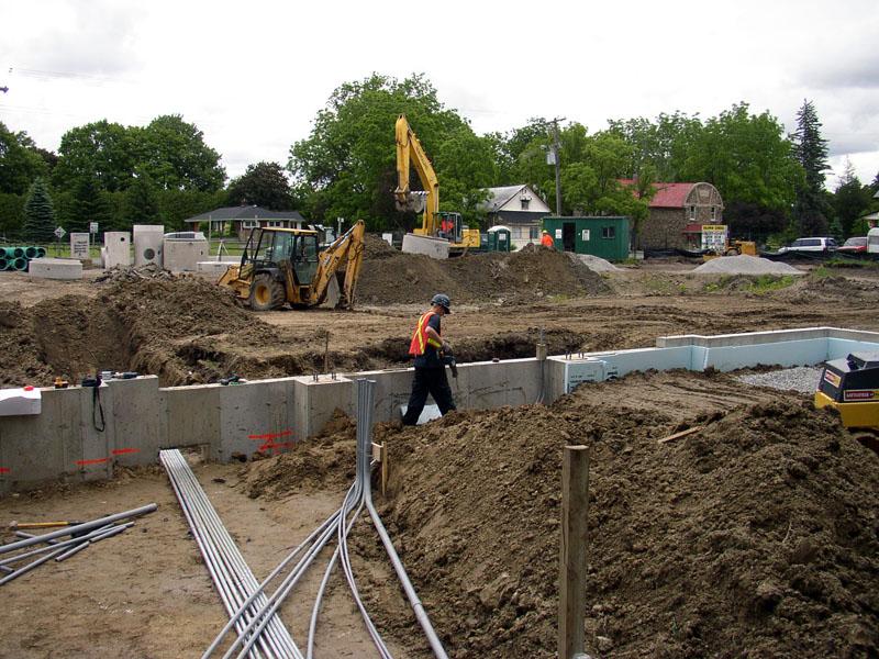 underground electrical conduit