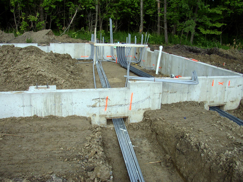 underground electrical conduit